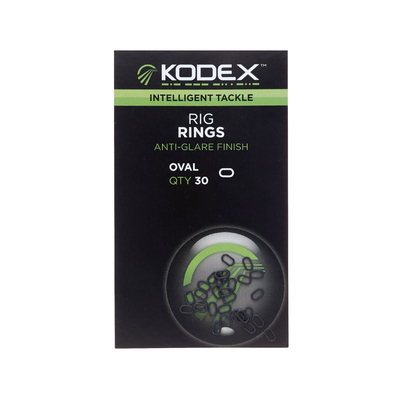 KODEX Rig Rings Oval (30pc pkt)
