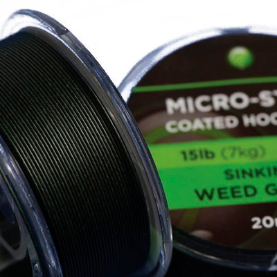 KODEX Micro-Strip Coated Hooklink 25lb 20m spool