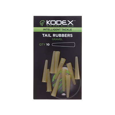 KODEX Tail Rubbers Gravel (10pc pkt)