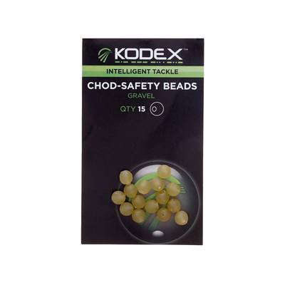 KODEX Chod Safety Beads: Gravel (15pc pkt)